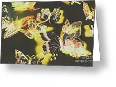 Tropical Glow Greeting Card