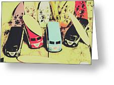 Tropical Trippers 1960 Greeting Card