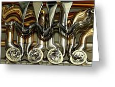 Tubes And Valves Greeting Card