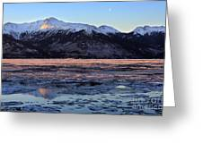 Turnagain Arm At Dawn Alaska Greeting Card