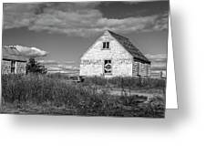 Two Sheds In Blue Rocks #01 Greeting Card