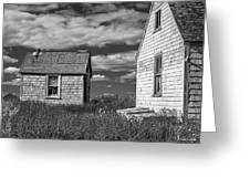 Two Sheds In Blue Rocks #2 Greeting Card