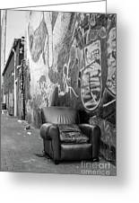 U Street Chair Washington Dc Greeting Card