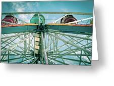 Under The Ferris Wheel Greeting Card