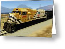 Union Pacific 2014 At Work Greeting Card