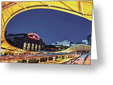 Union Station Of Denver Colorado Greeting Card by Gregory Ballos