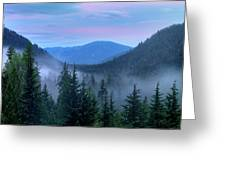 Upper Priest Lake Scenic Area Greeting Card