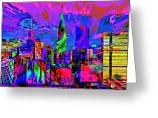 Urban Color Greeting Card