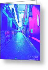 Urban Neon Greeting Card
