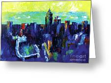 Urban Revisited Greeting Card