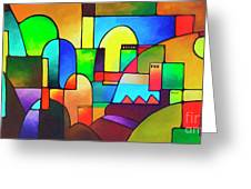 Urbanity 2 Greeting Card