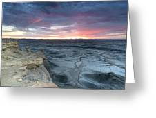 Utah Desert Sunrise Greeting Card