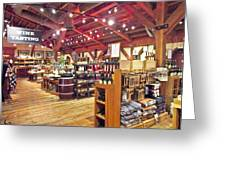 V Sattui Winery 3 Greeting Card