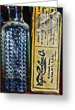 Vapo-cresolene Vaporizer Liquid Poison Bottle Greeting Card