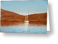 Vatersay Bay Greeting Card