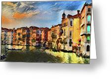 Venice A8-1 Greeting Card