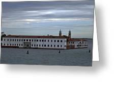 Venice Water Scene Greeting Card