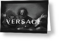Versace-3 Greeting Card