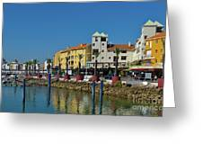 Vilamoura Marina 6 Greeting Card