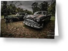 Vintage Cars Goshen Nh Greeting Card