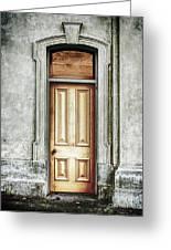 Vintage Door Greeting Card