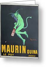 Vintage Poster - Maurin Quina Greeting Card