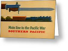 Vintage Poster - Southern Pacific Greeting Card