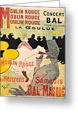 Vintage Poster - Toulouse Lautrec Greeting Card