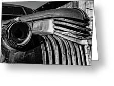 Vintage Truck Jerome Arizona Greeting Card