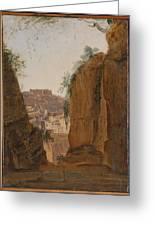 Virgil S Tomb  Naples  Greeting Card