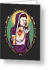 Virgin Meredith Greeting Card