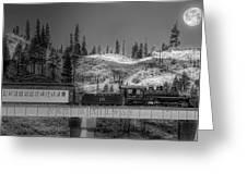Virginia Truckee Railroad Greeting Card