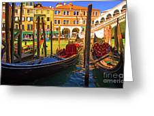 Visions Of Venice Greeting Card
