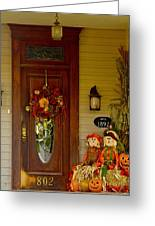 Waiting For Halloween Greeting Card