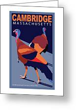 Walking Away From You-cambridge Greeting Card