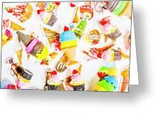 Wall Of Sweetness Greeting Card