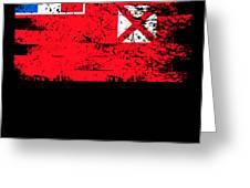 Wallis Futuna Shirt Gift Country Flag Patriotic Travel Oceania Light Greeting Card