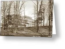 Walter Reed General Hospital Dec. 2, 1924 Greeting Card