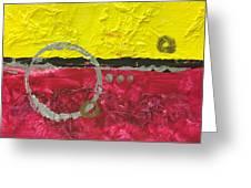 Warm Abstract Greeting Card
