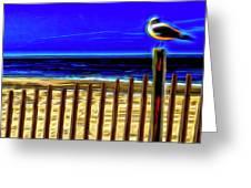 Watchin' The Tide Roll, Away Greeting Card by Paul Wear