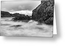 Water Of Fog Greeting Card