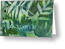 Watercolor - Tree Frog Design Greeting Card by Cascade Colors