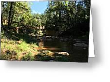 Webber Creek Bridge Greeting Card