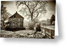 Weikert House At Gettysburg Greeting Card