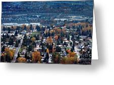 Wenatchee In November Greeting Card
