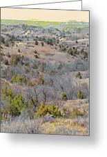 West Dakota Prairie Reverie Greeting Card