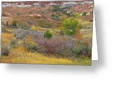West River Autumn Reverie Greeting Card