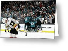 Western Conference Greeting Card