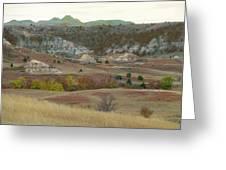 Western Edge Grasslands Grandeur Greeting Card