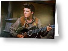 Western Ricky Nelson Greeting Card